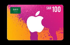 Apple iTunes Saudi Gift Cards 100 SAR