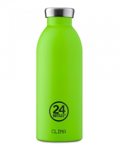 24Bottles Clima Bottle Lime Green 500ml