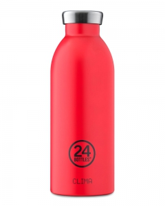 24Bottles Clima Bottle Hot Red 500ml