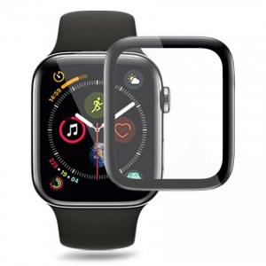Revomech Screen Protector for Apple Watch 4 - 40 mm (Black)