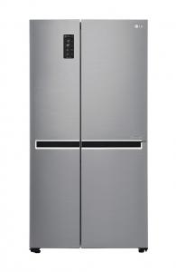 LG Refrigerator Side x Side 25 Cft - Shiny Steel