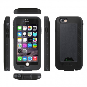Come Proof iPhone 6 (2300MAh) Waterproof Case - Black