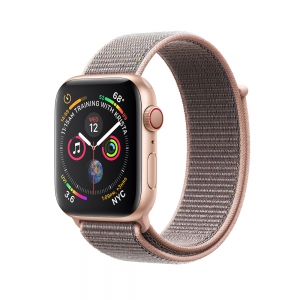 Apple Watch Series 4 GPS + Cellular 40mm Gold Aluminium Case - Pink Sand Sport Loop