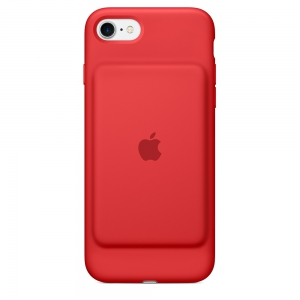 Apple - iPhone7 Smart Battery Case - Red - MN022 - Open Box
