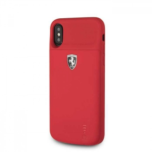 Ferrari Power Case Off Track Full Cover - 3600mAh Lithium Battery - Rubber Finish - Red - Open Box