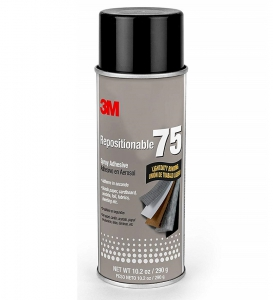 3m(Tm) Repositionable 75 Spray Adhesive - 12 Per Case