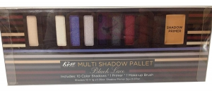 Kiss New York Black Lace Multi Shadow Pallet