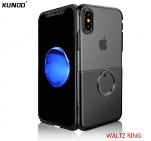 Xundd Waltz Ring Series PC Case for iPhone XS - Black