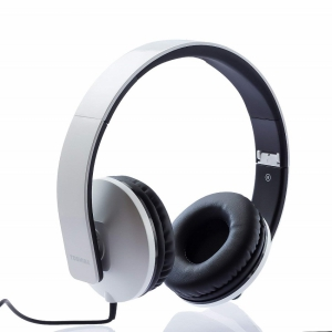 Toshiba Foldable Wired Headset - RZE-D200H (White)