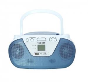 Toshiba Portable Radio With MP3/CD/USB Player - TY-CRU8-L (Blue)