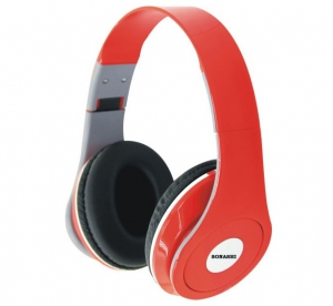 Sonashi Pulse Headphone HP-872 (Red)