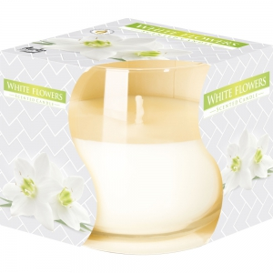 Aura Scented Candles 130g-White Flower - (BUY 2 GET 1 FREE)