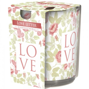 Aura Scented Candles F2 100g Love Letter - (BUY 2 GET 1 FREE)
