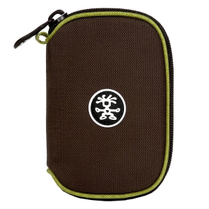 Crumpler The C.C. 70 Fits for iPod, iPhone & Digital Cameras Pouch - Chestnut/Dark Lime