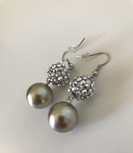 Honey Accessories - Rhodium Plated Earrings