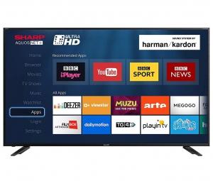 "Sharp - 4K Smart UHD TV - 70"" Inches"