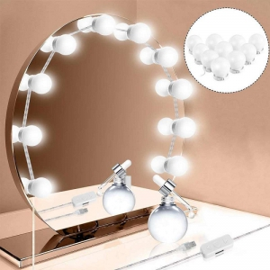 Vanity LED Mirror Lights with 10 Bulbs