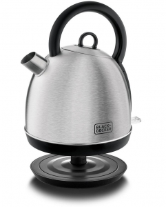 Black & Decker Stainless Steel Dome Kettle Silver - DK40-B5