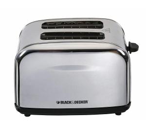 Black & DeckerB&D 2-Slice Toaster - 1050W SS