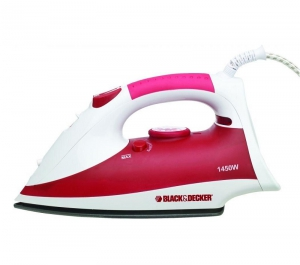Black & Decker Power Steam Iron - 1450 Watts