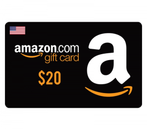 Amazon $20 Digital Gift Card (US)