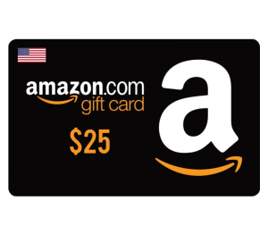 Amazon $25 Digital Gift Card (US)