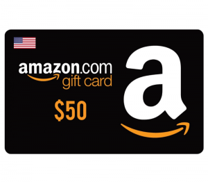 Amazon $50 Digital Gift Card (US)
