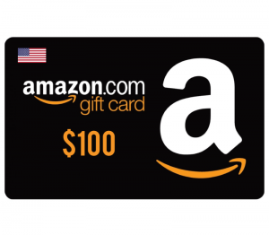 Amazon $100 Digital Gift Card (US)