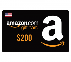 Amazon $200 Digital Gift Card (US)