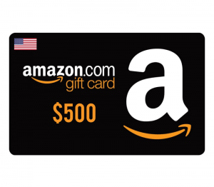 Amazon $500 Digital Gift Card (US)