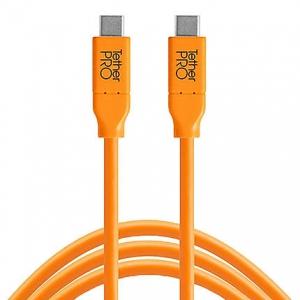 Tether Tools Cuc10-Org USB-C to USB-C 10' - 3m