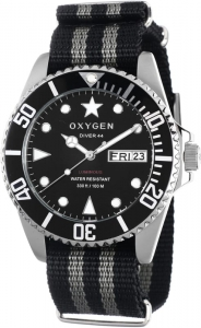 Oxygen - Mans watch Moby Dick 44 EX-D-MOB-44-NL-DB