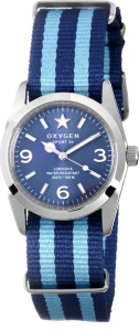 Oxygen EX-S-BOS-34 Sport Boston Watch Blue /  Light Blue