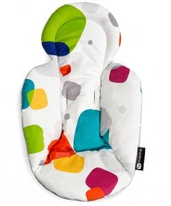 4moms Infant Seat and Swing Insert Multi/Polka Dot Plush