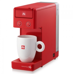 illy - Y3.2 iperEspresso Machine Red Ipso Home - 60289