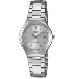 Casio Ladies Silver Dial Stainless Steel Band Watch - LTP-1170A-7ARDF