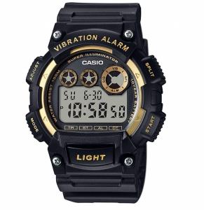 Casio Men's Digital Vibration Alarm Watch - W-735H-1A2VDF