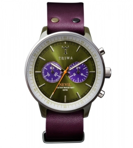 Triwa Peacock Nevil Purple Watch - NEAC103-P