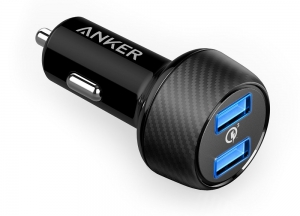 Anker Powerdrive Speed 2 Dual Qc 3.0 Black