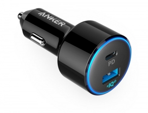 Anker Powerdrive II Pd With 1 PD and 1 PIQ 2.0 Black