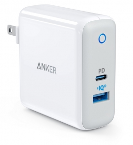 Anker Powerport II PD With 1PD and 1 PIQ2.0 White