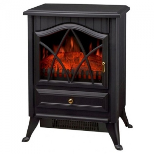 Orca Classic Fireplace Electric Heater 1,800 W - Black
