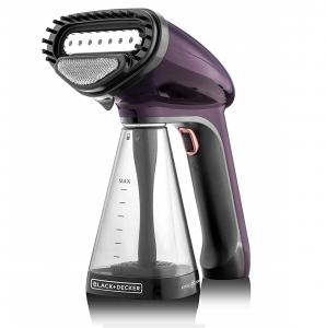 Black & Decker 1500W Handheld Handy Garment Steamer, Purple - HST1500-B5