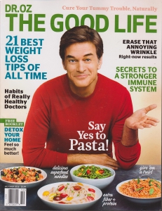 Dr Oz The Good Life Magazine October 2016