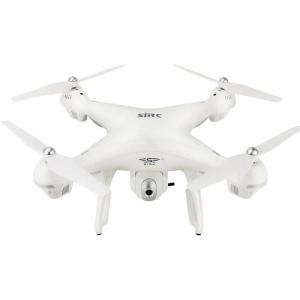 SJRC S70W RC Drone WiFi FPV / Double GPS Module - White 720P Camera