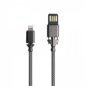 Trands Metal Connector Lightning USB Cable - TR-CA1354