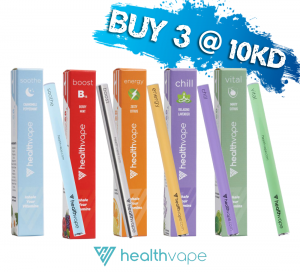Healthvape Energy Supplement - Vitamin Inhaler ( OFFER - Buy Any 3 for KD 10.00 )