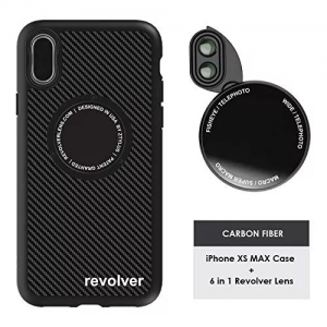Ztylus Magnetic 6 in 1 Revolver Lens Kit With iPhone Xs Max Case