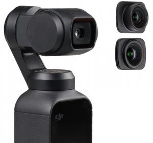 Ztylus Dji Osmo Pocket Lens Kit Wide Angle & Fisheye Lenses
