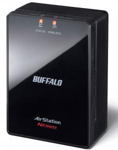 Buffalo Nfiniti Wireless-N Dual Band Ethernet Converter, Access Point and Range Extender - WLAE-AG300N